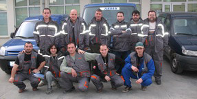ASBIS Bulgaria logistics team